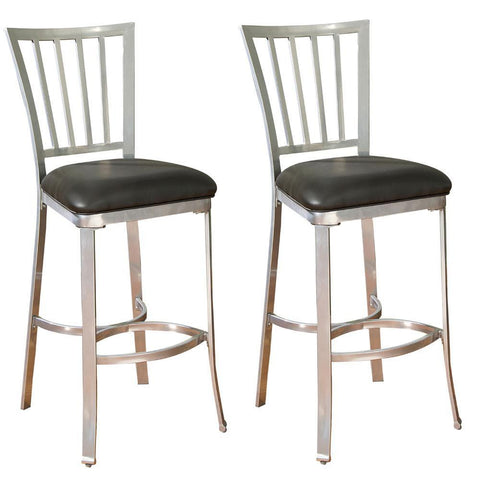 American Heritage Alexa Bar Stool 30H - Set of 2 130713SI-M01 - BarstoolDirect.com - 1