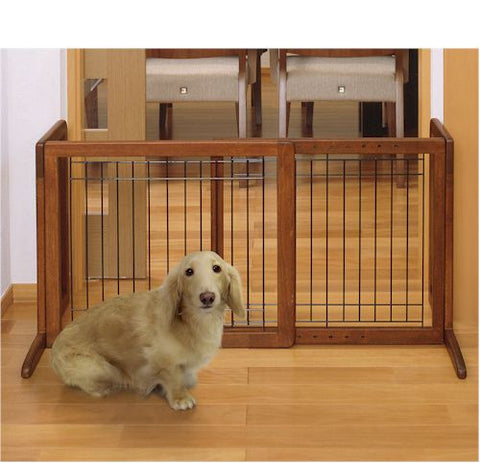 Bay Isle Freestanding Pet Gate HS - Peazz.com