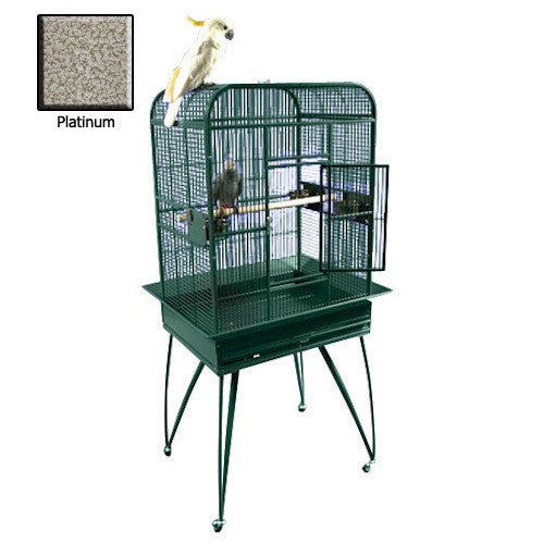 Small Playtop Bird Cage - Platinum
