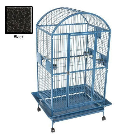 Amazon Dome Top Bird Cage - Black - Peazz.com