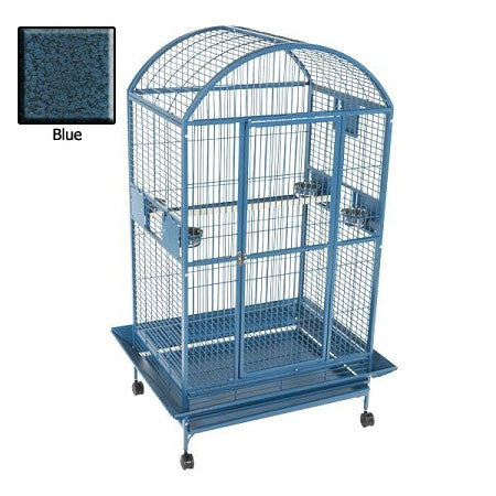 Amazon Dome Top Bird Cage - Blue - Peazz.com