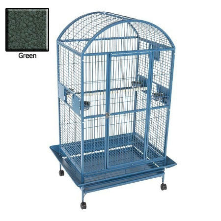 Amazon Dome Top Bird Cage - Green - Peazz.com