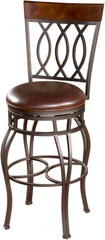 American Heritage Billiards 130714PP-L32.2 Traditional Bar Stool - BarstoolDirect.com