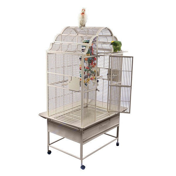 Victorian Scalloped Top Bird Cage