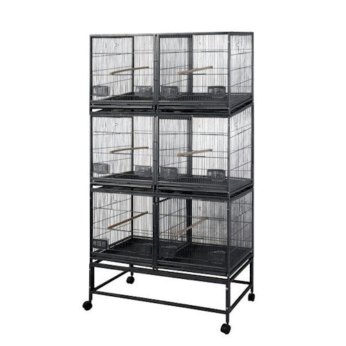 Six Unit Breeding Bird Cage