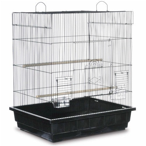 Square Roof Parakeet Cage