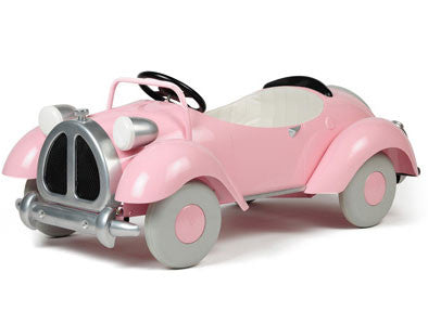 Airflow Collectible's AF109 Pink Speedster Pedal Car - Peazz.com