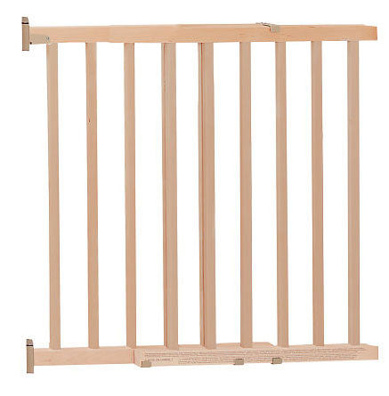 Evenflo G10503 Top of Stair Wood Gate - Peazz.com