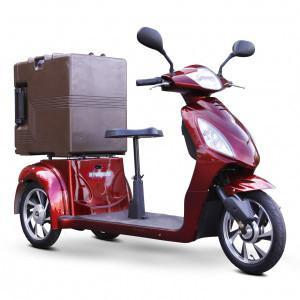 EWheels C28 Electric Utility Vehicle W/Food Carrier - Peazz.com