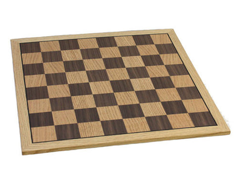Fame Oak Chess Board 301B - Peazz.com