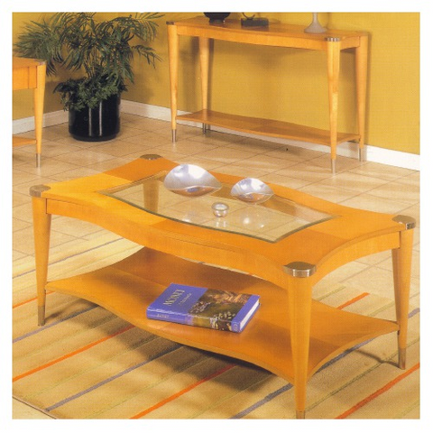 Alpine 62-00 Rect. Cocktail Table - Peazz.com