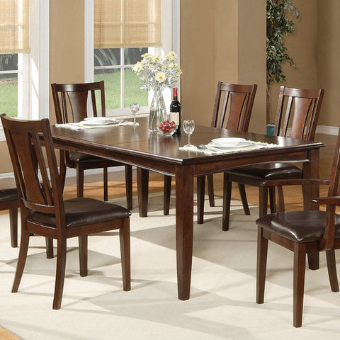 Alpine 637-21 Extension Dining Table - Peazz.com