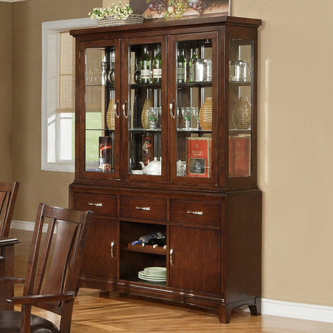 Alpine 637-25-26 Hutch & Buffet - Peazz.com