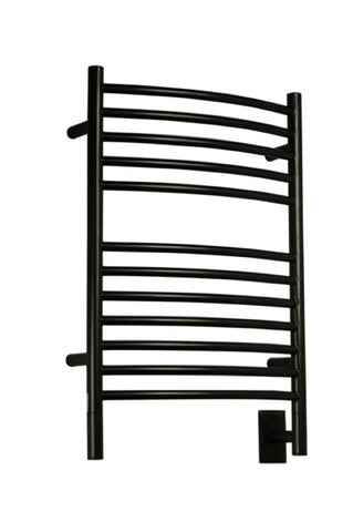 Amba Products Towel Warmer ECO-20 E Curved - Oil Rubbed Bronze - Peazz.com