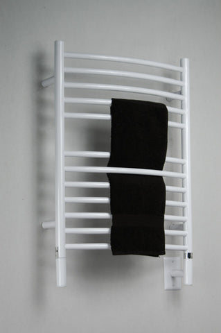 Amba Products Towel Warmer ECW-20 E Curved - White - Peazz.com
