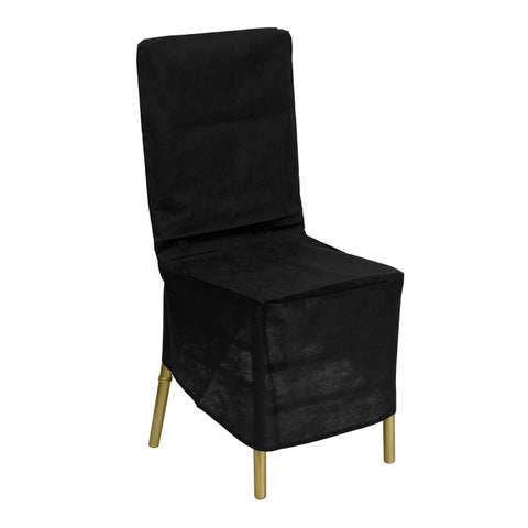 Black Fabric Chiavari Chair Storage Cover LE-COVER-GG by Flash Furniture - Peazz.com
