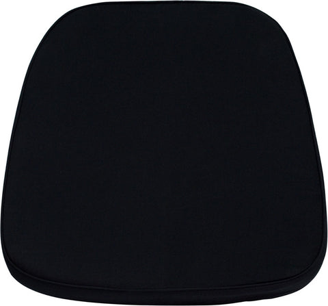 Black Chiavari Chair Cushion for Wood / Resin Chiavari Chairs LE-L-C-BLACK-GG by Flash Furniture - Peazz.com