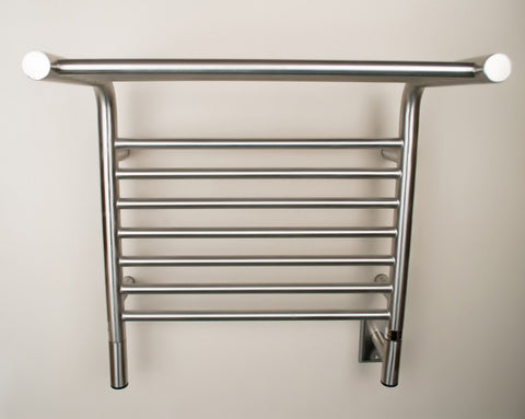 Amba Products Towel Warmer MSB-20 M Shelf Straight - Brushed - Peazz.com