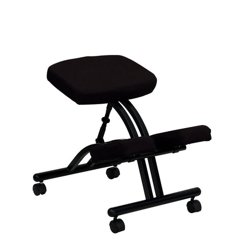 Ergonomic Kneeling Posture Office Chair WL-1420-GG by Flash Furniture - Peazz.com
