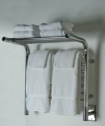 Amba Products Towel Warmer MSP-20 M Shelf Straight - Polished - Peazz.com