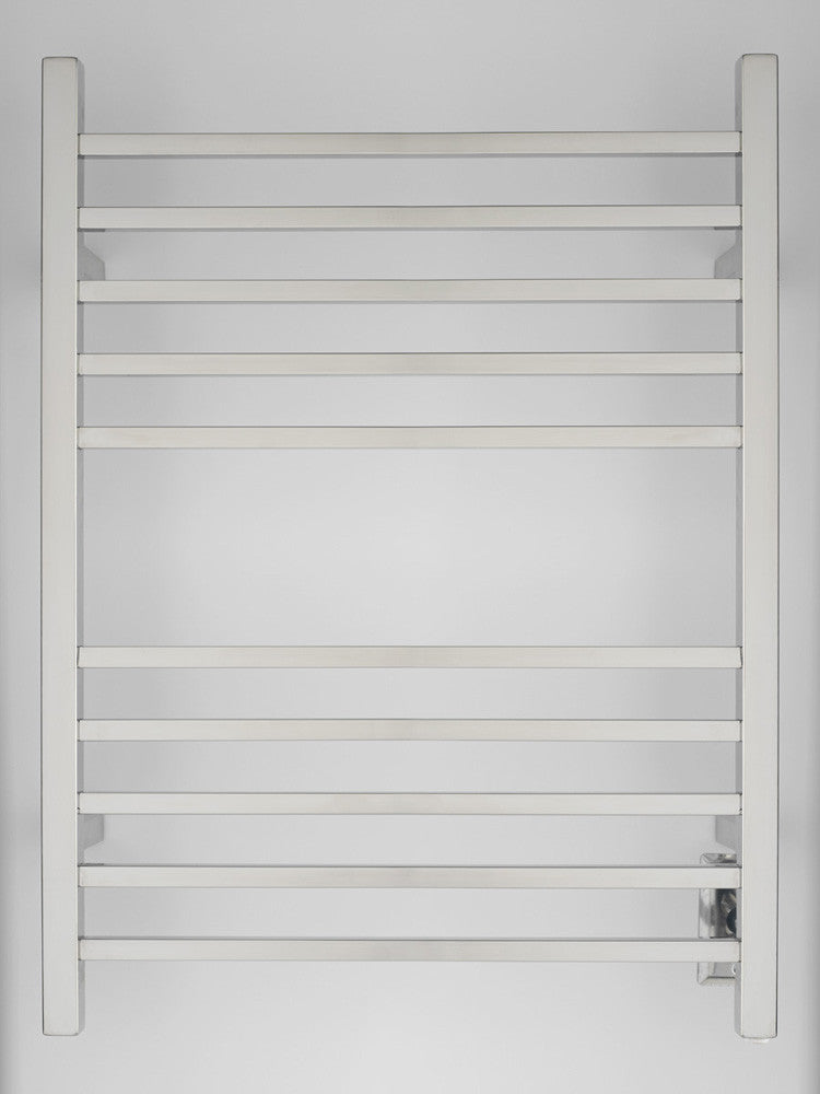 Amba Products Towel Warmer Rswh-p Radiant Square Hardwired - Polished