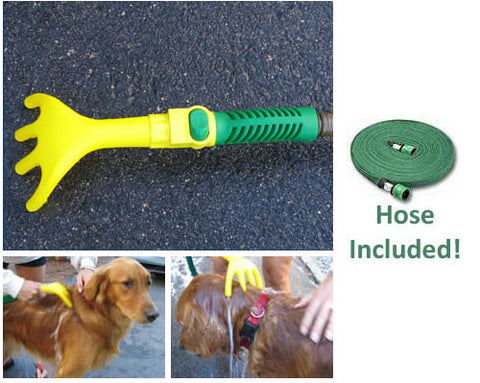 Amazing DoggieWasher Handheld Dog Washer with 8ft Hose - Peazz.com