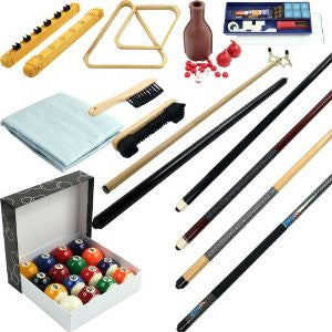 Trademark Commerce 40-AK13 32 piece Billiards Accessories Kit for your Pool Table TMC-40-AK13