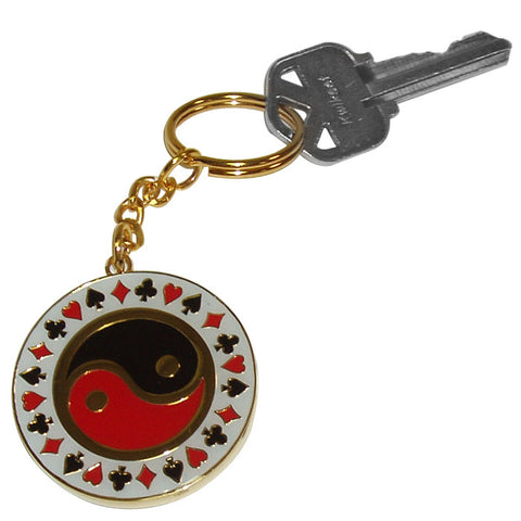 Trademark Commerce 10-552010 Yin Yang Key Chain - Peazz.com