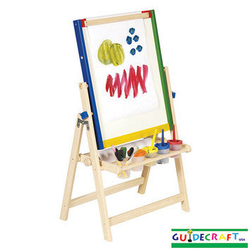 Guidecraft 4-in-1 Flipping Floor Easel - Peazz.com