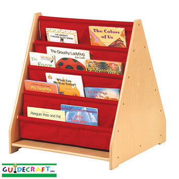 Guidecraft 2 Sided Canvas Book Display - Peazz.com
