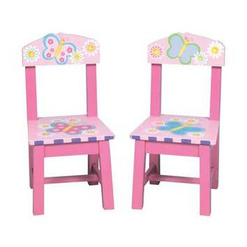 Guidecraft Butterfly Extra Chairs Set of 2 - Peazz.com