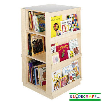 Guidecraft 4-Sided Library - Peazz.com
