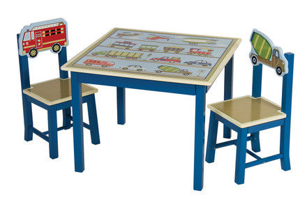 Guidecraft G86502 Moving All Around Table & Chairs Set - Peazz.com