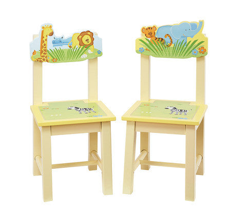 Guidecraft Savanna Smiles Extra Chairs (set Of 2) - G86803 - Chair Accessories Products Furniture G86803