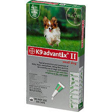 K9 Advantix II For Dogs Up To 10 lbs, Green 4 Pack - Peazz.com