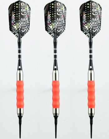 Viper Sure Grip Orange Soft Tip Darts 16 Gram - Peazz.com