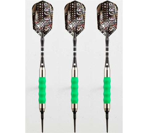 Viper Sure Grip Green Soft Tip Darts 16 Gram - Peazz.com