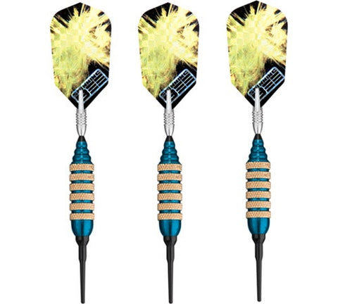 Viper Spinning Bee Blue Soft Tip Darts 16 Gram - Peazz.com