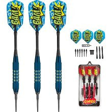 Viper 20-2201-18 Comix Soft Tip Darts Blue 18 Gm - Peazz.com