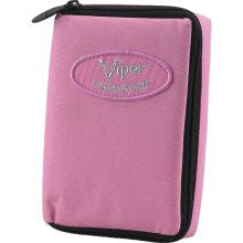 Casemaster 36-0902-12 Select Pink Nylon Dart Case