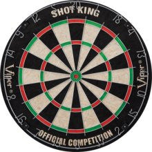Viper 42-6002 Shot King Bristle Dartboard - Peazz.com