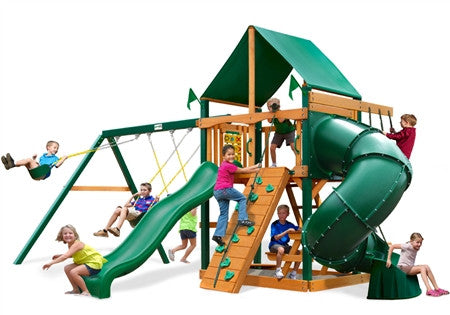 Gorilla Playsets 01-0005-1 Mountaineer Deluxe