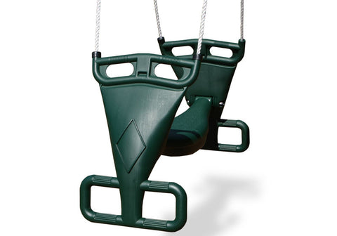 Gorilla Playsets 04-0020 Glider Swing - Green - Peazz.com