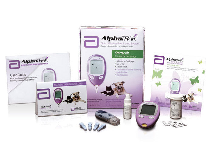 AlphaTRAK Blood Glucose Monitoring Meter Kit