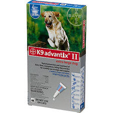 K9 Advantix II >55 lbs. Blue - 4 Pack - Peazz.com