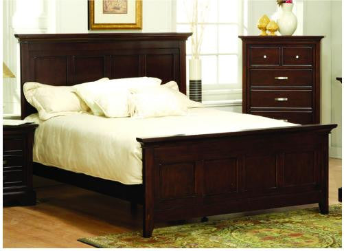 Homelegance Glamour Panel Bed 1349-1