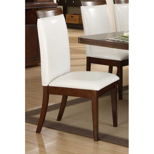 Homelegance Elmhurst Side Chair W/ Wood Rail