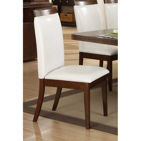 Homelegance Elmhurst Side Chair w/ Wood Rail - Peazz.com - 1
