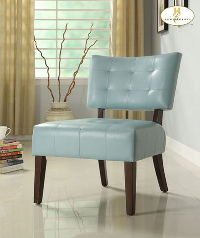Homelegance 489BL Warner Accent Chair - Sky Blue - Homelegance - Peazz.com