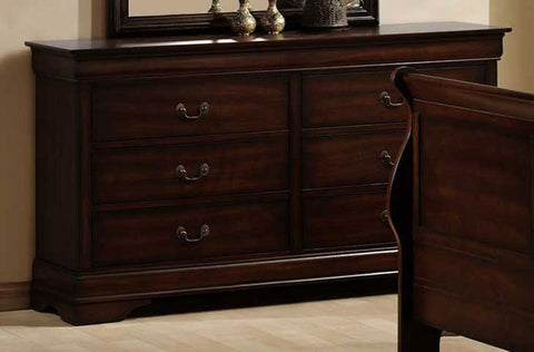 Homelegance 549-5 Chateau Brown Dresser - Homelegance - Peazz.com